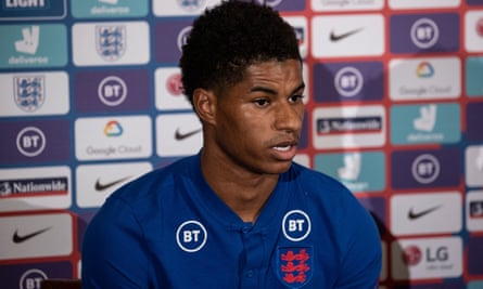 Marcus Rashford has launched an online petition to extend free school meals to more children.