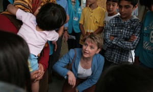 Yvette Cooper, chair of Labour's refugee taskforce