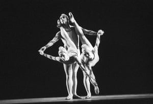 Karen Paisey, Ashley Page and Fiona Chadwick in Monotones I