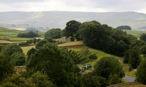 A rural scene in the Yorkshire Dales. In some places average house prices are 10 times average household income.