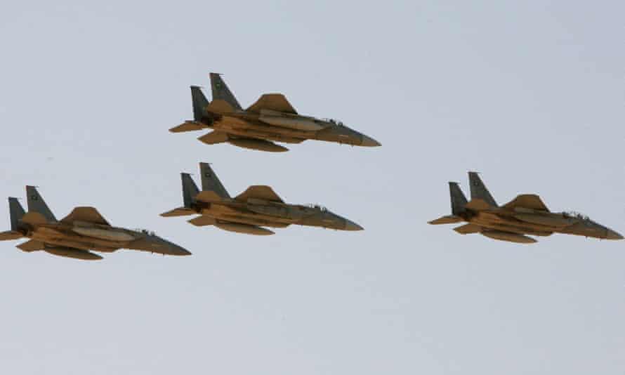 Saudi aircraft