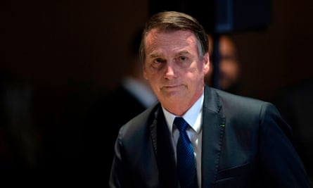 President Jair Bolsonaro's critics celebrated news of the gala's cancellation, which made immediate headlines in Brazil. One read: 'Bolsonaro is banned from New York museum.'