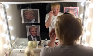 John Di Domenico becoming Donald Trump
