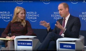 Davos 2019: Prince William on the battle for mental health campaign.