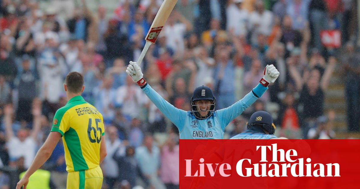 England hammer Australia to reach final: Cricket World Cup