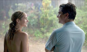 Ana de Armas and Wagner Moura in Sergiol.