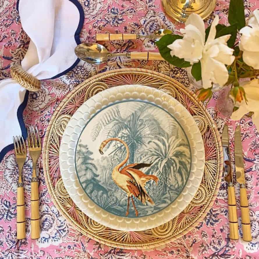 A Maison Margaux tablescape.