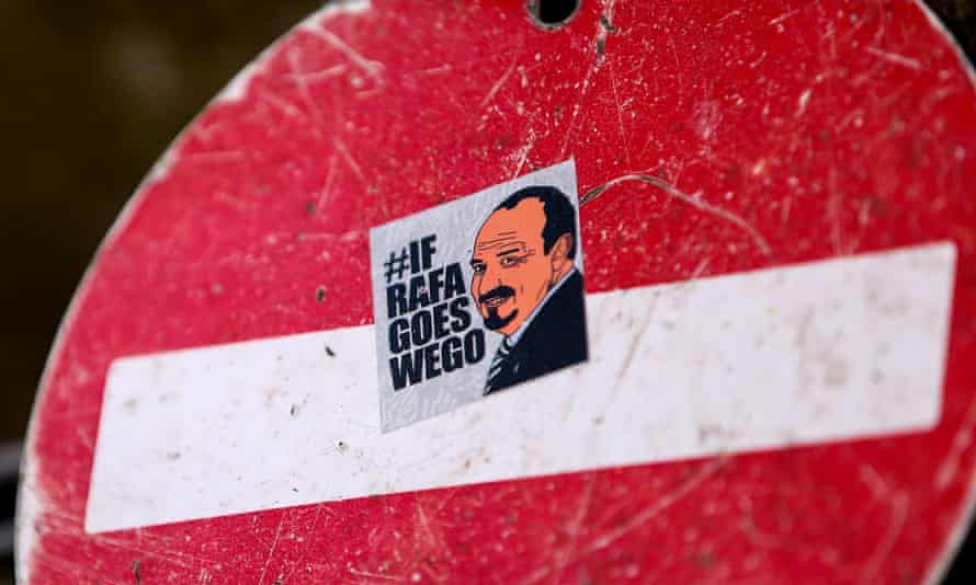 Many Newcastle fans had suggested that they would vote with their feet if Rafa Benítez left.