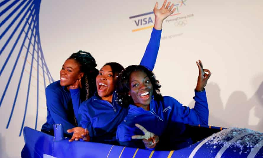 Nigeria women's bobsleigh team