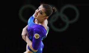 Aliya Mustafina of Russia.