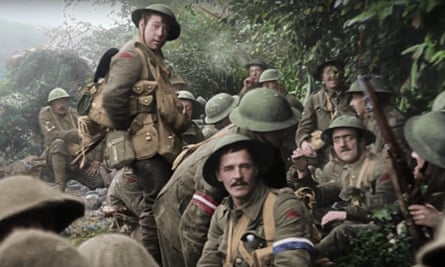 A scene from They Shall Not Grow Old.