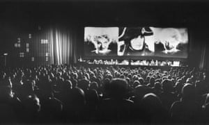 A previous screening of Abel Gance's Napoleon