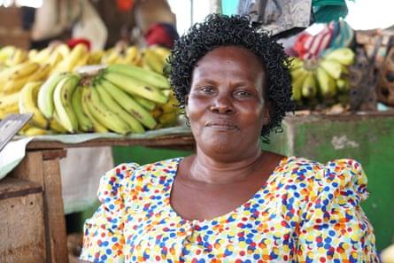 Nora Baguma, market trader and women's representative