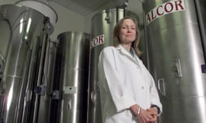 Inside the Alcor cryonics facility in Scottsdale.