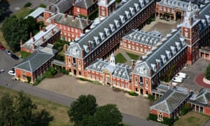 Aerial view of Wellington College