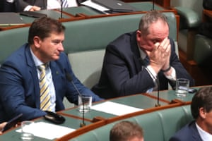 Barnaby Joyce is a mood