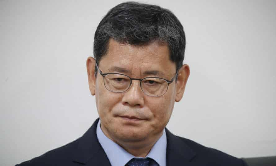 South Korean unification minister Kim Yeon-chul announces his plan to quit amid worsening relations with North Korea.