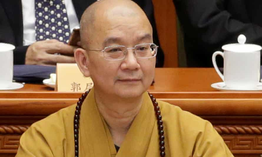 Shi Xuecheng, Longquan Monastery abbot