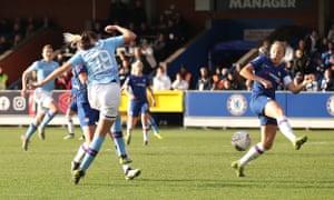 Caroline Weir of City scores for City.