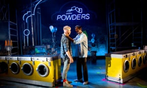 Muddled fascism ... Jonny Fines and Omar Malik in My Beautiful Laundrette.