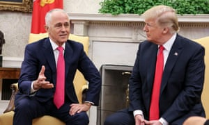Donald Trump says he and Malcolm Turnbull are working on an agreement for tariff exemptions