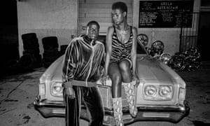 Daniel Kaluuya and Jodie Turner-Smith in Queen & Slim.