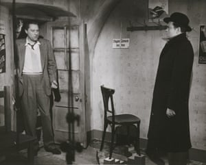 Carol Reed (director) and Orson Welles (Harry Lime)