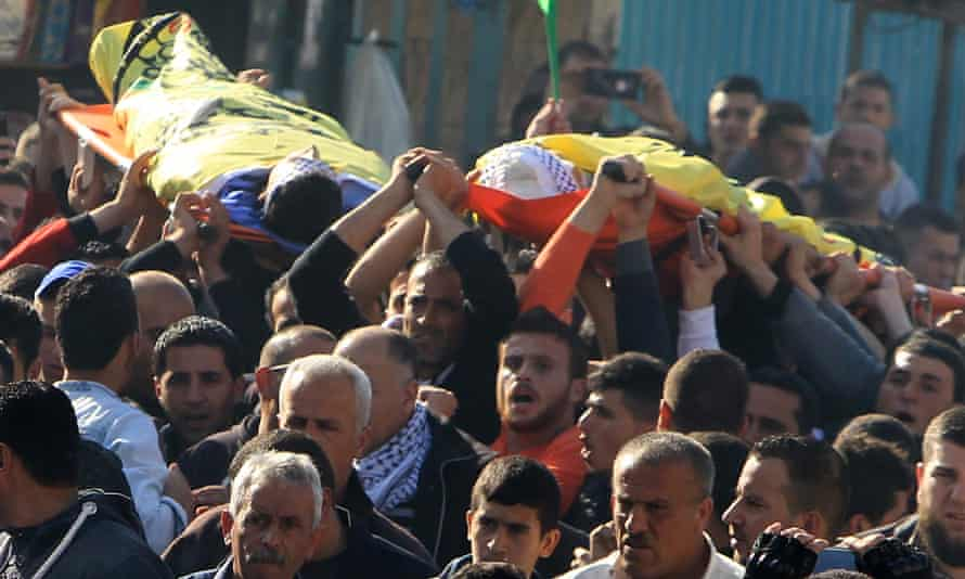 Funeral of Nihad and Fouad Waked
