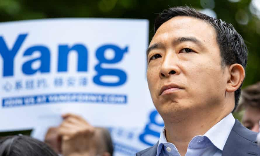 The tech entrepreneur and former presidential candidate is among the leading candidates in the Democratic primary.