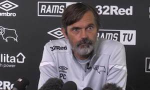 Phillip Cocu was unimpressed at a Derby press conference on Thursday.