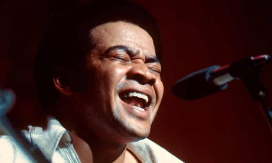 Bill Withers performing at Hammersmith Odeon, London, November 1972.