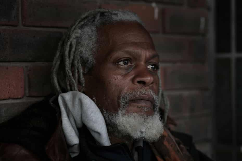 Stephen, who has been sleeping rough in Elephant and Castle