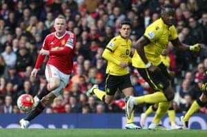Wayne Rooney has impressed today.