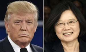 The phone call between Donald Trump and Taiwan's President Tsai Ing-wen has angered Beijing.