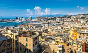 Genoa, in a region ruled by an alliance of anti-immigrant parties.