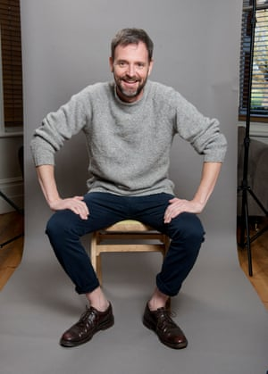 Tim Dowling fashion flashes some skin