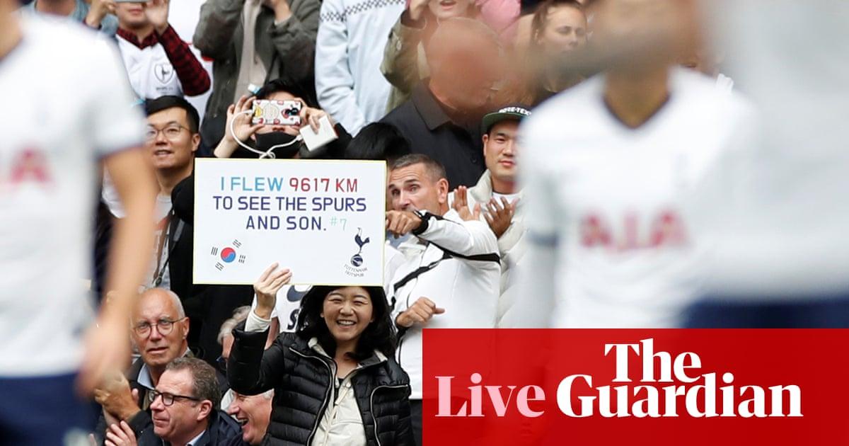 Tottenham v Southampton, Chelsea v Brighton: clockwatch – live!