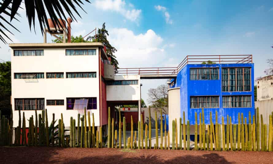 The house and studio designed by Juan O'Gorman.