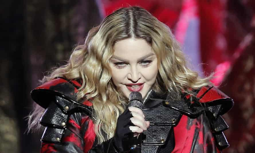 Madonna … performing on her Rebel Heart tour earlier this year.