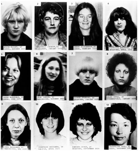 12 of Yorkshire Ripper victims