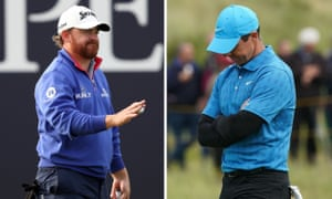JB Holmes leads after the first round at Royal Portrush, while local favourite Rory McIlroy had a day to forget.