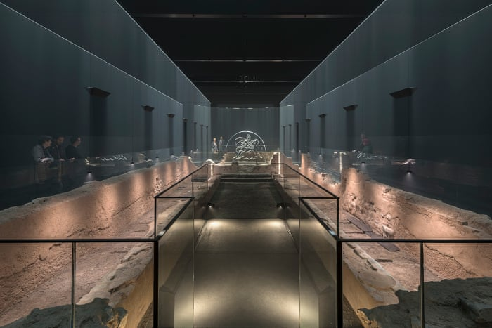 Reconstructed Roman Temple of Mithras opens to public in London |  Archaeology | The Guardian