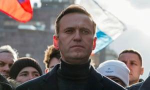 Russian opposition politician, Alexei Navalny.