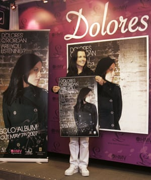 O'Riordan promotes her solo album, Are You Listening? in Hong Kong, 2007