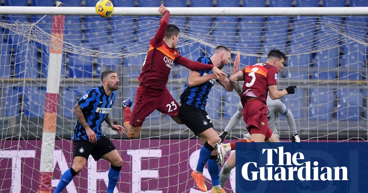 Antonio Contes ambition questioned after Inter are pegged back by Roma | Nicky Bandini