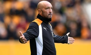 Walter Zenga pictured during last Saturday's 1-0 defeat at home to Leeds United.