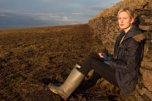 Amy Liptrot, author of The Outrun, picture on the Orkney island of Papa Westray.