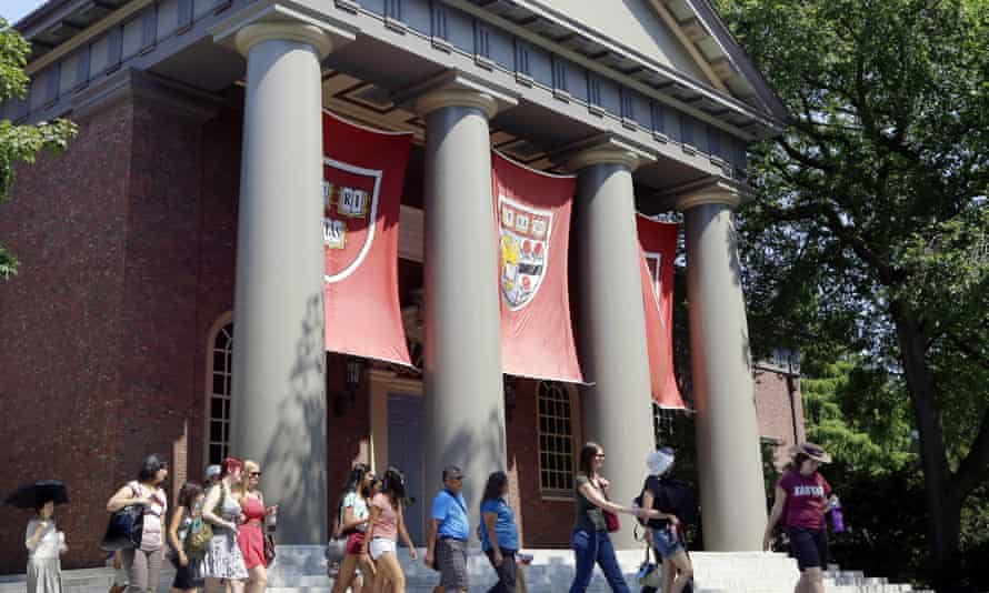 """Many US colleges, including Harvard, admit """"legacies"""", or students with a family connection to the university, at dramatically higher rates than other applicants."""