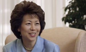 Elaine Chao is one of Donald Trump's least controversial appointments to his cabinet.