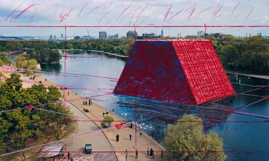 Roll out the barrels: a plan of the London Mastaba, by Christo.